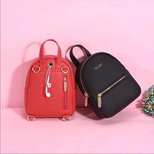 Handbags - New Black Mini Backpack